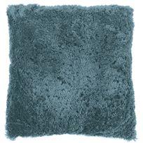 Tiseco Home Studio - Coussin Fluffy 45 x 45 cm Bleu Pastel