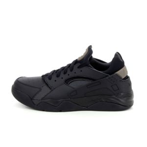 Nike Air Flight Huarache Low Noir 819847 002 Noir - Chaussures Baskets basses Homme