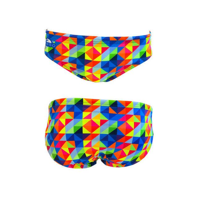 fe5bdb3b5156 Turbo - Maillot de bain de waterpolo Oritu multicolore - pas cher Achat   Vente  Maillots de bain - RueDuCommerce