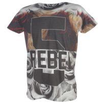 Rivaldi Black - Tee shirt manches courtes Masubin black mc tee Noir 22881