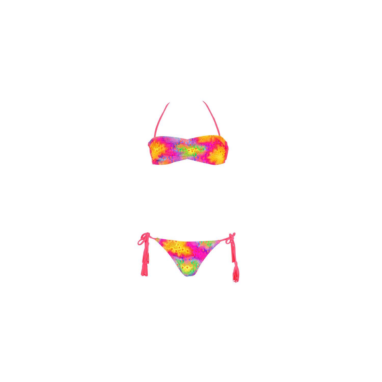 459bca52363c8 Maillot de bain Dag Adom - 2 pièces enfant multicolore en crochet - 10 ans