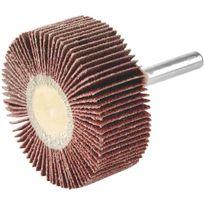 Scid - Roue à lamelle corindon sur tige - Ø 60 mm x 20 mm - grain 80