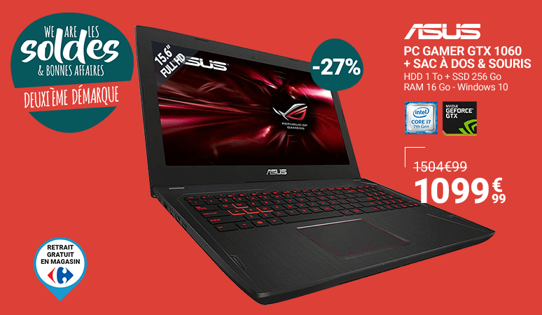 WE ARE LES SOLDES - ASUS