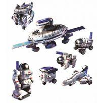 Powerplus - Space Explorer kit, jouets hybrides solaires 7 en 1