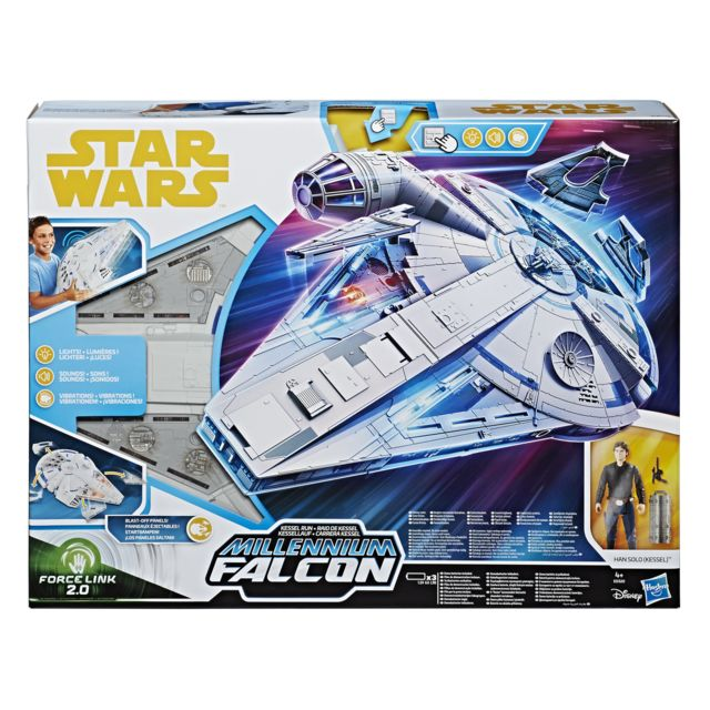 STAR WARS Han Solo et Faucon Millenium Géant - E0320EU40