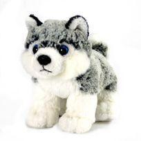 Soft Friends - Peluche Chien gris et blanc 3