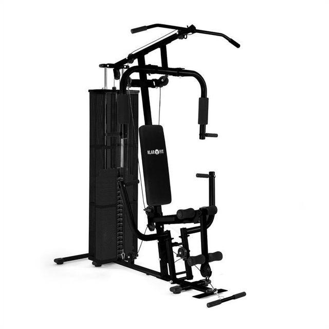 KLARFIT - Ultimate Gym 3000 Appareil de fitness multifonctions - noir