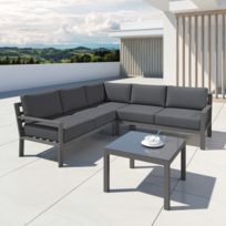 Salon jardin alluminium - catalogue 2019 - [RueDuCommerce - Carrefour]