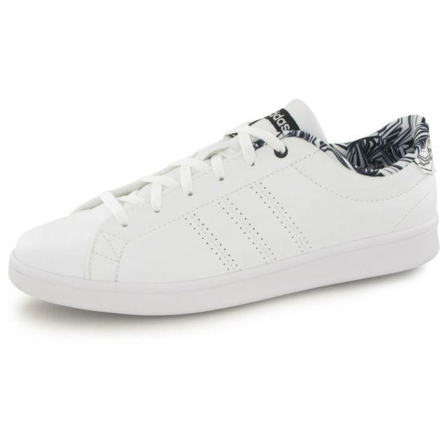 basket femme adidas neo blanche