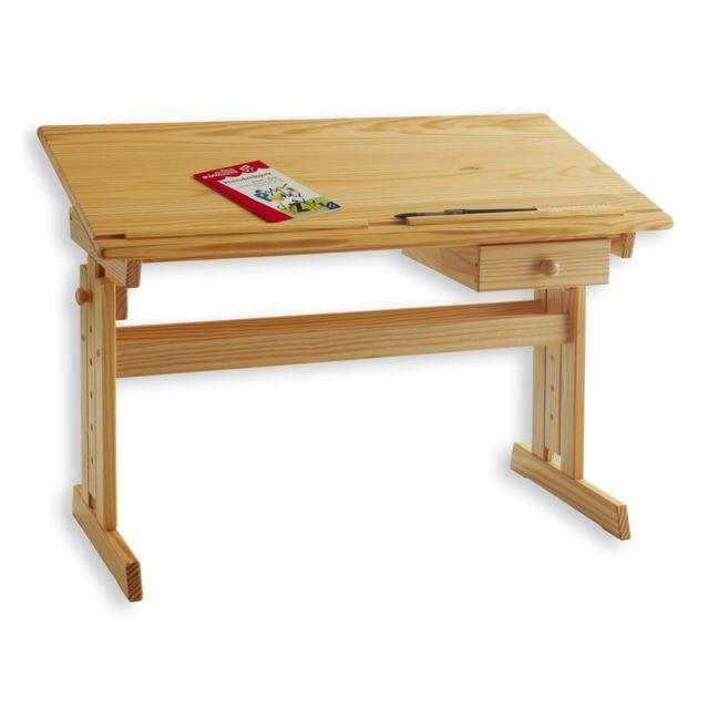 Idimex Bureau Enfant Ecolier Junior Flexi Table A Dessin