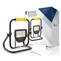 König - Projecteur Led mobile 30 W 2300 lm Noir