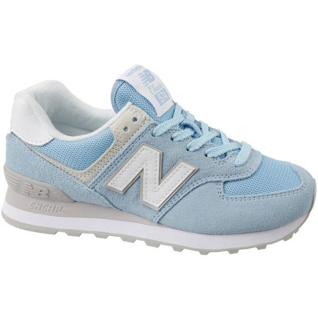 new balance femme wl574ey bleu