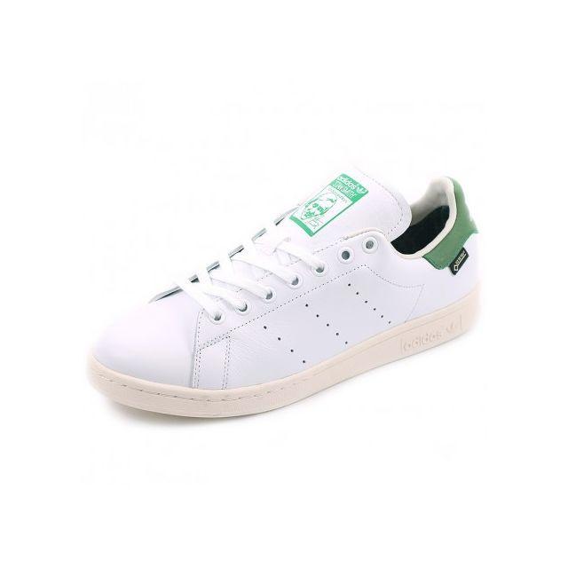 new concept 97b5f d39c4 Adidas originals - Chaussures Stan Smith Gore-Tex Blanc Vert Homme Adidas