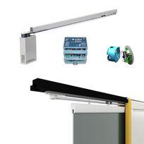 Wimove - Pack motorisé Widoor Inside pour porte simple coulissante en verre 935 x 2005 mm