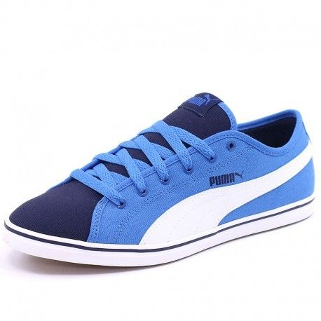 Chaussures Canvas Elsu Achat Puma Cher V2 Garçon Bleu Pas dqtxHxz5