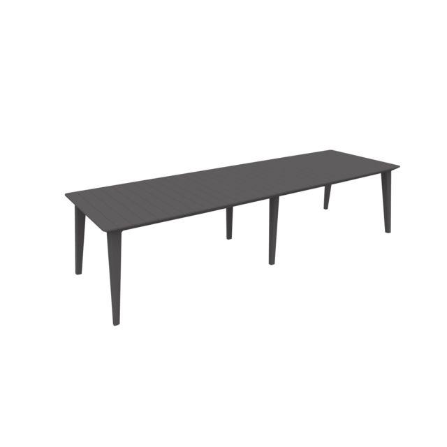 ALLIBERT-JARDIN - LIMA - Table de jardin rectangulaire extensible ...