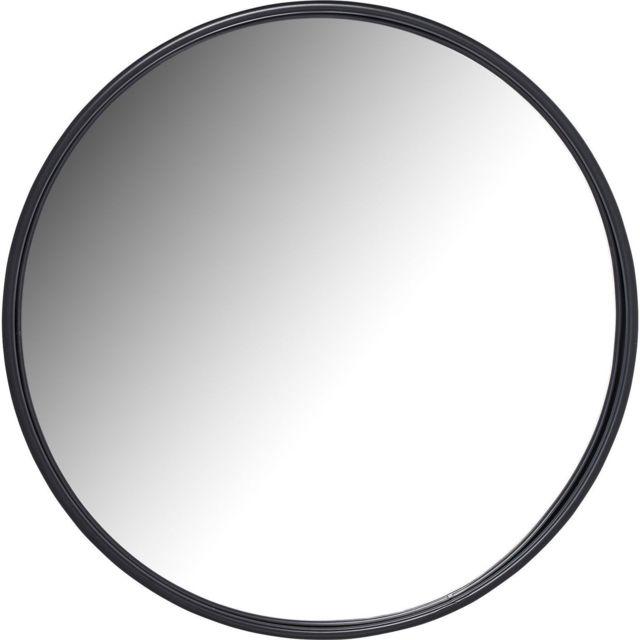 Karedesign Miroir Célébration noir mat 80cm Kare Design
