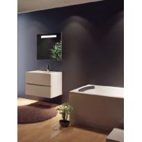 Riho - Ensemble meuble & lavabo Cambio Sentito Set 07 en bois stratifié 80x48x H 57 cm