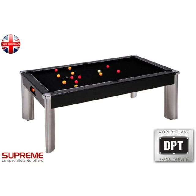 Dpt - Billard Pool Fusion 7ft Noir
