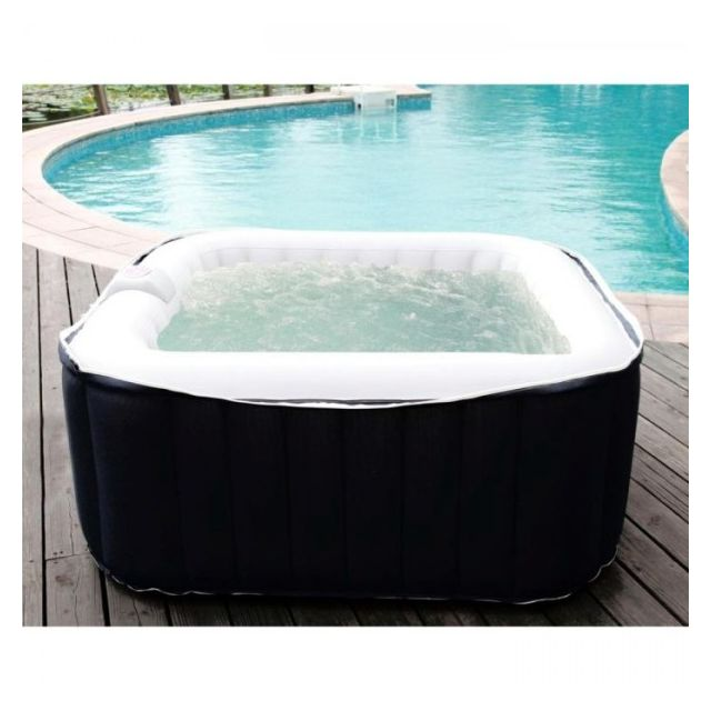 ospazia spa gonflable carr 2 places pas cher achat. Black Bedroom Furniture Sets. Home Design Ideas