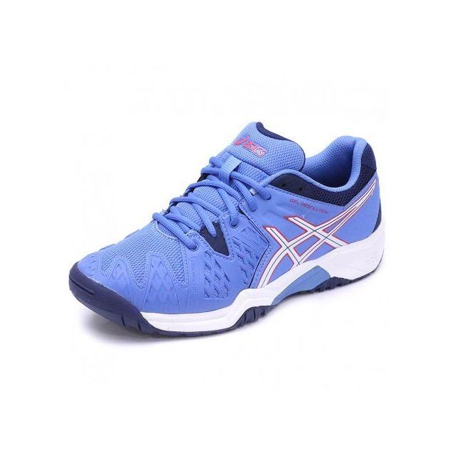 quality design ca820 5bdcc Asics Gel Garçon cher Bleu 6 Chaussures Resolution Tennis pas UUw5v7rxq