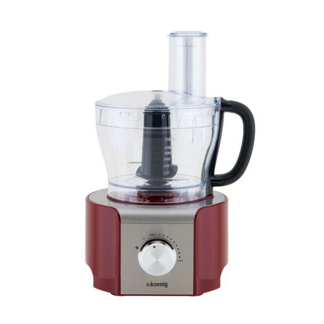 H.Koenig Robot multifonction MX18 - Rouge - Achat Robot multifonction 1cd63063b2e6