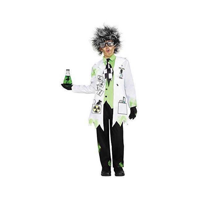 Fun World Mad Scientist Costume Medium 8 - 10 Multicolor