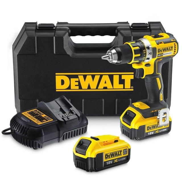 Kända Dewalt - DCD790M2 Perceuse visseuse sans fil 18V 4Ah 2x batteries XP-02