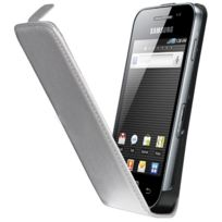 Anymode - Etui coque Samsung blanc pour Galaxy Ace S5830