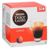 Dolce Gusto - Capsules café Lungo Nescafé - Boîte de 30