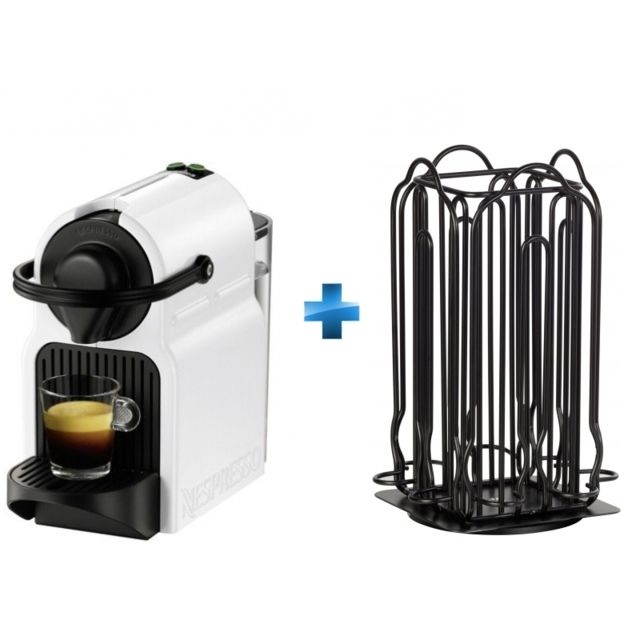 krups cafeti re dosettes inissia xn 1001 porte capsules nespresso noir achat cafeti re. Black Bedroom Furniture Sets. Home Design Ideas
