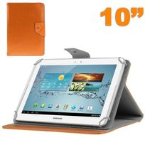 Yonis - Housse universelle tablette 10 pouces ajustable 10.1'' support Orange