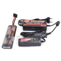 TRAXXAS - Pack Accu NIMH 8,4V 3000mAh + Chargeur 12/220V