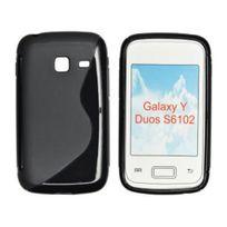 Bluetrade - Coque Tpu Noire typeS pour Samsung S6102