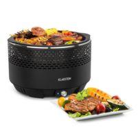 KLARSTEIN - Micro-Q 3131 Barbecue à charbon rond grille Ø 31cm noir