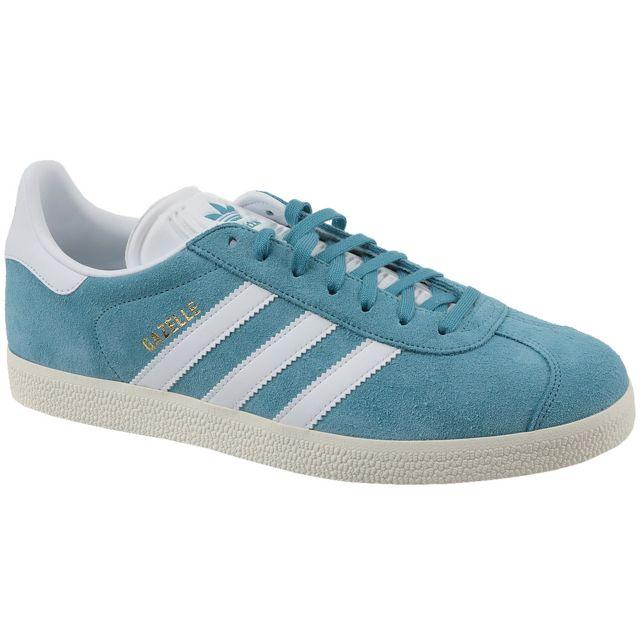 Adidas Gazelle Bz0022 Bleu pas cher Achat Vente