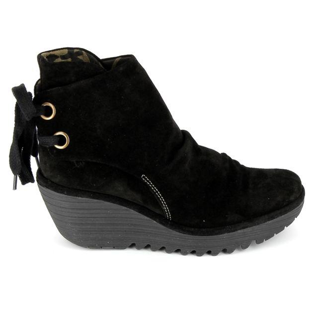 Fly London Boots Yama Noir