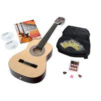 Antonio Calida - Calida Benita Guitare Classique 1/2 nature avec accessoires