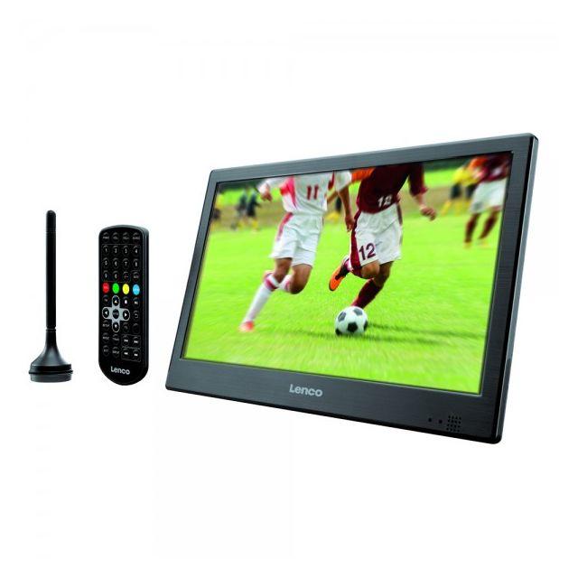 Lenco Tv Portable Tnt Hd 101 Tft 1026 Pas Cher Achat