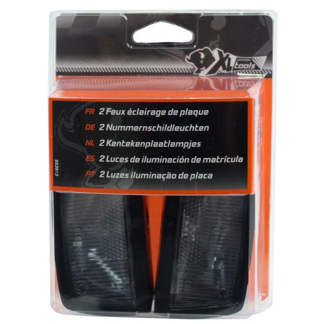 xl perform tool xlpt 2 feux clairage de plaque pas cher achat vente accessoires pour. Black Bedroom Furniture Sets. Home Design Ideas