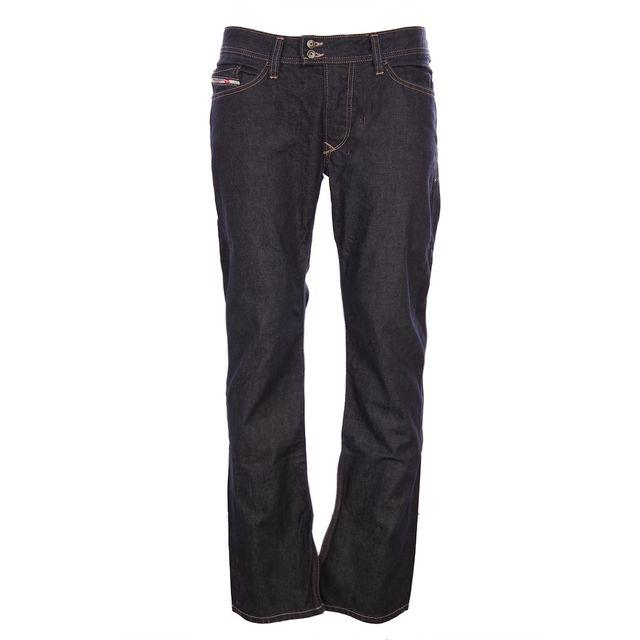 diesel homme jeans coupe droite viker r box bleu pas. Black Bedroom Furniture Sets. Home Design Ideas