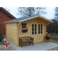 Foresta - Abri de jardin en bois 42mm 12,25m Montage disponible