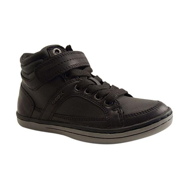 Geox - Enfants-J Garcia B-basket Lacet-noir - pas cher Achat   Vente ... 74dc330478ce