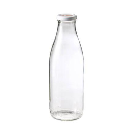 le parfait bouteille en verre 1l avec bouchon vis fra cheur pas cher achat vente bocal. Black Bedroom Furniture Sets. Home Design Ideas