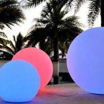 ARUMLIGHTING - Sphere lumineuse led 50cm RGB rechargeable extérieur
