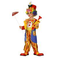Widmann - Déguisement Enfant Clown Farceur - Taille : 3/5 ans 94 à 108 cm