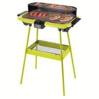 Be Nomad - Barbecue électrique sur pieds vert Dom297V-DOM297V