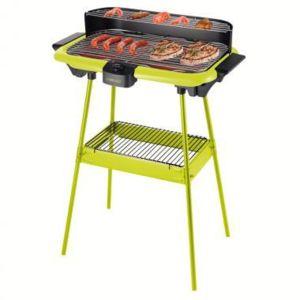 Domoclip barbecue lectrique sur pieds vert dom297v pas cher achat vente barbecues - Barbecue electrique sur pied ...