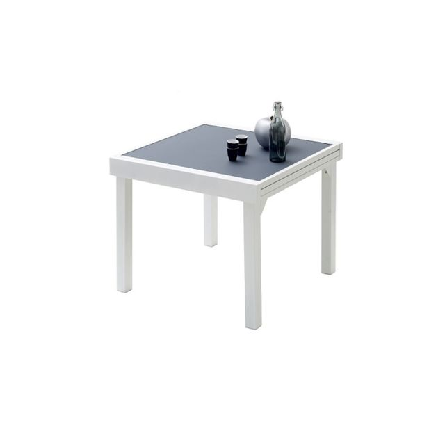 Wilsa - Table De Jardin Modulo Gris Perle 4 A 8 Personnes Sans housse de  protection f55b5cd14296