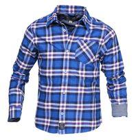 Timberland - Chemise garçon T25m14 871 Bleu Royal